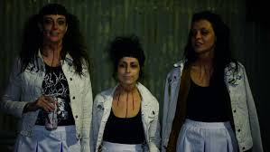 the coathangers dressed up in costumes and played two dallas shows