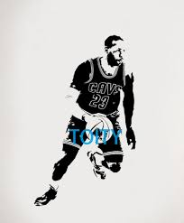 compare prices on nba basketball players online shopping buy low lebron jame sticker nba basketball player vinyl wall decal room decor sport art mural h96cm x