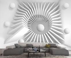 papier peint intisse chambre papier peint intisse trompe l oeil photo murale relief 3d blanc
