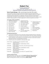 construction project manager sample resume u2013 topshoppingnetwork com