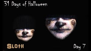 sloth makeup tutorial 31 days of halloween day 7 youtube