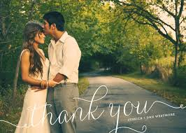 101 best wedding thank you cards images on wedding