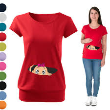 baby shower shirts maternity pregnancy t shirt top peek a boo ba shower baby