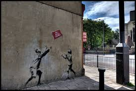 Banksy S Top 10 Most Creative And Controversial Nyc Works - 10 paintings by street artist banksy toptenz net
