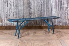 Industrial Bench Seat Industrial Metal Bench Vintage Folding Dining Bench