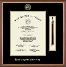 diploma frame west virginia tassel edition diploma frame in newport