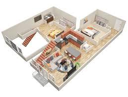 Cabin Home Plans With Loft One Bedroom Log Cabin Plans With Loft Joy Studio Design 2 Story