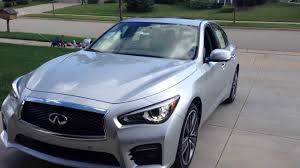 infiniti q50 awd hybrid sport vsp pedestrian sound and backup