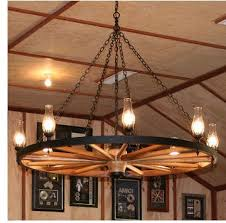 wagon wheel light fixture wagon wheel chandeliers information and history regarding awesome