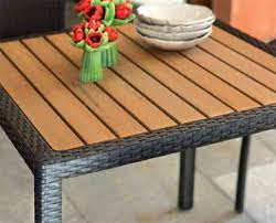 tavoli da giardino rattan set da giardino dayna in rattan sintetico con tavolo e 4 sedie