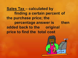 calculating tax tips and commission ppt download