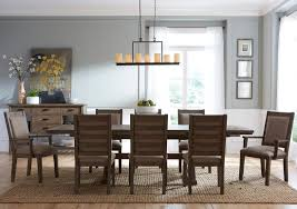 nine piece rustic dining set by kincaid furniture wolf and