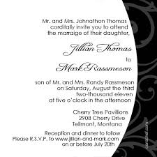 exle of wedding invitation popular wedding invitation 2017