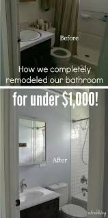 remodeled bathroom ideas best 25 cheap bathroom remodel ideas on diy bathroom