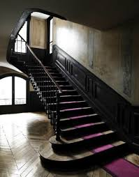 black staircase fabulous stair runners