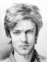 sketching portait of mid hair man by rossi rosedeni on deviantart