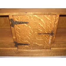 Arts And Crafts Cabinet Doors Wonderful Arts Crafts Oak Bookcase With Bottom Cabinet Door