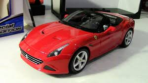 ferrari new model new release maisto 1 18 ferrari california t review youtube