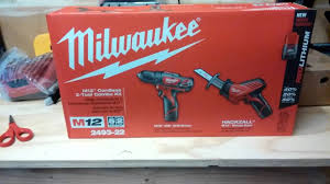 black friday impact driver milwaukee m12 cordless 2 tool combo kit black friday deal