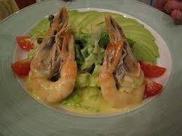 homard cuisine recette avocats crevettes à la bisque de homard cuisine facile et
