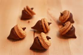 hershey acorn treats for thanksgiving sweet city