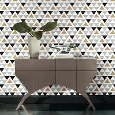 home depot wall decor roommates 28 18 sq ft geometric triangle peel and stick decor
