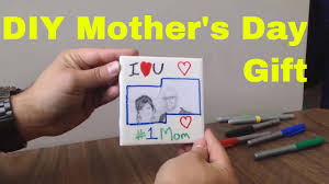 Mother S Day Gifts Homemade by Easy Diy Mother U0027s Day Gift Homemade Coaster With Tile And Cork