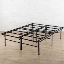 Bed Steel Frame Zinus High Profile Smartbase Metal Bed Frame Hd Sb13 18q