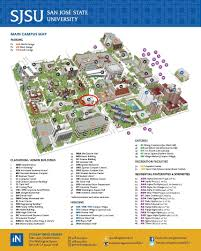 San Jose Map by About Us Student Health Center San Jose State University