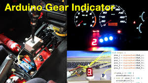 arduino manual transmission gear position indicator youtube
