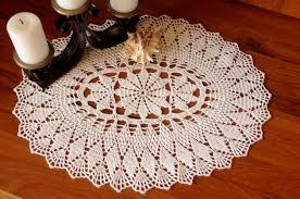 lace home decor sale 10 off crochet table runner white runner oval crochet