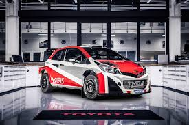 yaris toyota u0027s return to wrc may mean we get a rally spec yaris of our