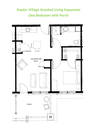 Floor Plans With Porches by Apartment Floor Plans Snyder Village