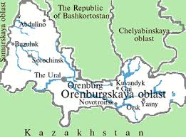 russia football map orenburg city russia travel guide