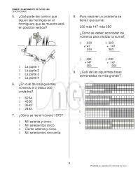 examen montenegro 3 grado primaria examen tercer grado primaria