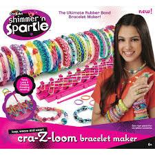 cra z loom rainbow colored rubber band bracelet maker cra z art