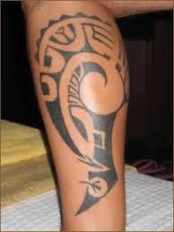 africn tribal leg tattoo on calf tattooshunter com