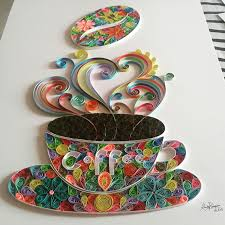 Quilling Designs Coffee Quilling Paper Gorgeous Quill Pinterest Quilling