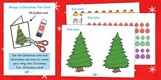 design your own tree card design
