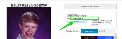 Upload Image Meme Generator - how to make a meme simple way allupdatehere