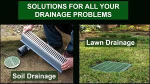 Drainage Ideas For Backyard Landscape Drainage Ideas A Backyard And Yard Design For Village