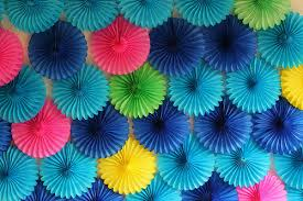paper fan backdrop a paper fan party backdrop is my fave guest post from