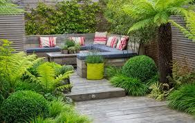Family Garden Design Ideas - garden seating area home outdoor decoration