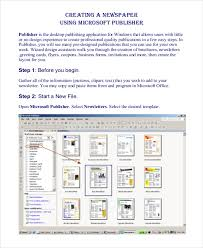 microsoft publisher newspaper template business template