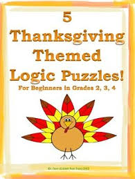 11 best thanksgiving images on logic puzzles