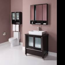 bathroom dark cherry 24 bathroom vanity bypass door cabinet and