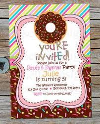 donut birthday invitation first birthday party by abbyreesedesign
