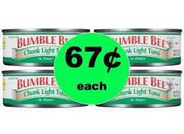 bumble bee chunk light tuna major pantry staple pick up bumble bee chunk light tuna only 67
