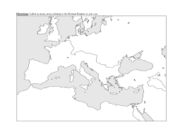 World Map No Labels by Map Of Roman Empire Thinglink