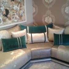canapé marocain moderne déco salon un très beau salon marocain moderne gris bleu